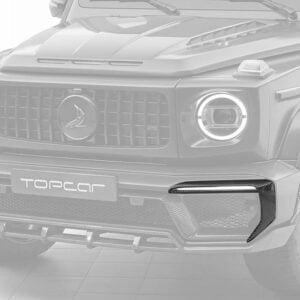 Accesorii bara fata fibra carbon Mercedes Benz G-class W463 INFERNO Topcar Design