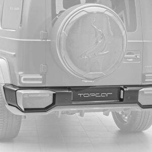 Bara spate fibra carbon Mercedes Benz G-class W463 INFERNO Topcar Design