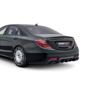 Bara spate S Class BRABUS V222 X222 Mercedes Benz