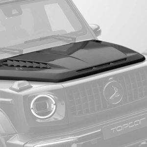 Capota motor fibra carbon Mercedes Benz G-class W463 INFERNO Topcar Design