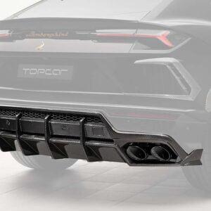 Difuzor bara spate fibra carbon Lamborghini Urus TOP CAR Design