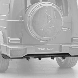 Difuzor bara spate fibra carbon Mercedes Benz G-class W463 INFERNO Topcar Design
