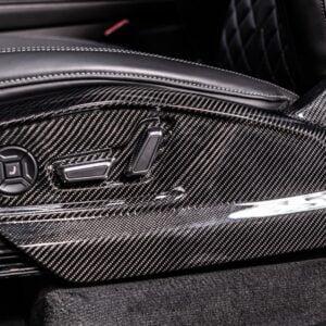 Elemente scaun fibra carbon Audi SQ8 4M80 ABT Sportsline