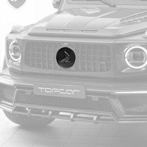 Emblema fibra carbon Mercedes Benz G-class W463 INFERNO Topcar Design