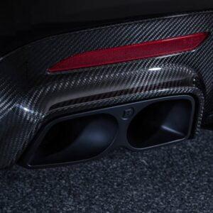 Evacuare BRABUS V222 S Class Mercedes Benz CARBON PACKAGE SOUND