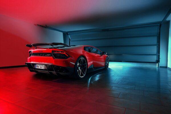 Evacuare sport otel inoxidabil Lamborghini Huracan Coupe Spyder Novitec