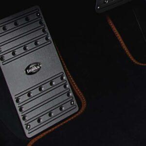 Footrest aluminiu Porsche Cayenne Turbo E3 9YA Techart