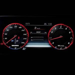 Ceasuri bord BRABUS W463A Widestar G63 AMG Mercedes Benz