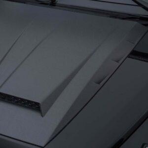 Ornament capota motor fibra carbon BRABUS W463A Widestar Mercedes Benz G63 AMG