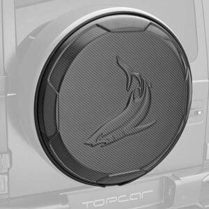 Protectie roata rezerva fibra carbon Mercedes Benz G-class W463 INFERNO Topcar Design