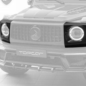 Protectii faruri fibra carbon Mercedes Benz G-class W463 INFERNO Topcar Design