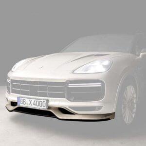 Spoiler bara fata Porsche Cayenne 9YA Techart