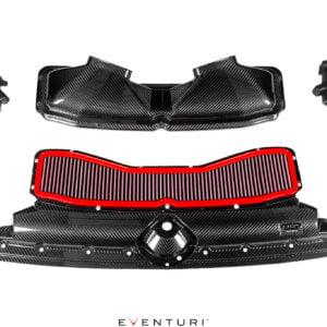 Admisie sport Audi C8 RS6 RS7 Gloss Carbon EVENTURI